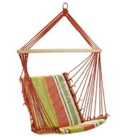 Rope Hanging Hammock Chair, Cotton Colorful Hammock Chair, Camping Hammock Chair