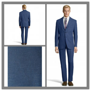 Bespoke Tailor 100% Wool Fashion Blue Suit for Men (SUIT61479) pictures & photos