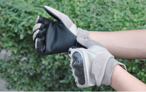 Hunting Tactical Motorcycle Cycling Airsoft Work Safety Military Full Finger Glove (SYSG-247) pictures & photos