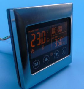Touch Screen Heating Thermostat with Double Sensor pictures & photos