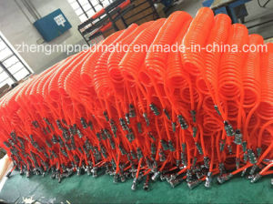 95 Shore a Pneumatic Spiral Hose with Fitting (150P. S. I.) pictures & photos