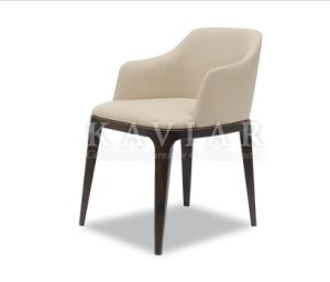 High Quality Modern Dining Chair with Solid Wood Legs (RA108)