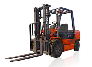 JAC 3.5ton Diesel Engine Forklift Truck with Side Shifter pictures & photos