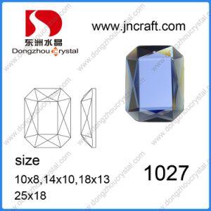 Dz-1027 Machine Cut Mirror Octagon Glass Beads for Garment pictures & photos
