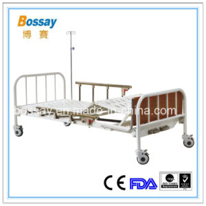 Manual Bed with Dining Table Adjustable Medical Bed pictures & photos