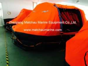 12 Persons Self-Righting Throw Over Board Inflatable Liferaft pictures & photos