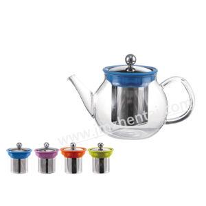 Wholesale Christmas Gift Borosilicate Glass Teapot pictures & photos