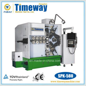 Five-Axis CNC High Efficiency Wire Spring Coiling Bending Machine pictures & photos
