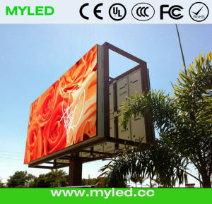 P16mm Paneles LED Electronicas a Full Color De Exterior Instalacion pictures & photos