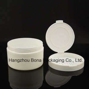 White Round Powder Box with Straight Edge pictures & photos