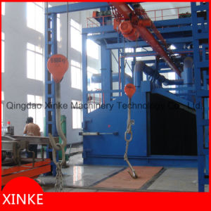 Hoist Hook Type Shot Blasting Machinery pictures & photos