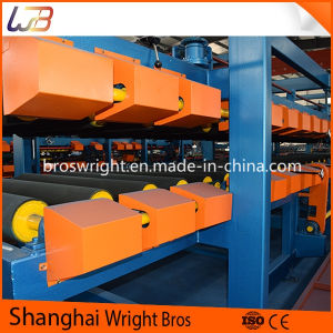 Color Steel Sandwich Panel Production Line pictures & photos