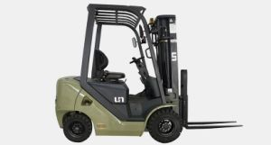 Un 1.5t Diesel Forklift with Rugged Engines for Options pictures & photos