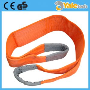 En1492-1 Ce and GS Certified 10t Polyester Lifting Straps pictures & photos