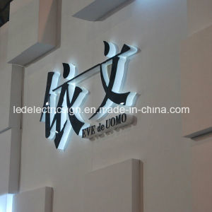 LED Backlit Plastic Letter with LED Sign for Shop Advertising pictures & photos