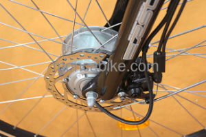 Higher Safety Old Men Riding E Bike Lady Electric Bicycle 350W Power Front Motor 8fun Brushless pictures & photos