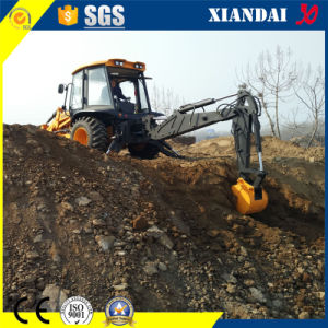 Xiandai Brand Backhoe Loader with Breaker and Aguer (XD850) pictures & photos