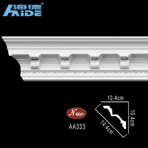 Top Rank Polyurethane Cornices PU Foam Cornices PU Crown Moulding (AA333) pictures & photos