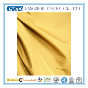 Solid Faux Silk Polyester Fabric pictures & photos
