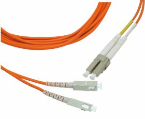 Single Mode Sc-FC-LC Fiber Optic Patch Cord pictures & photos