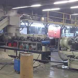 300kg PP PE Flakes Pelletizing Line/ Waste Plastic Recycling Machine / Plastic PP Granules Making Machine