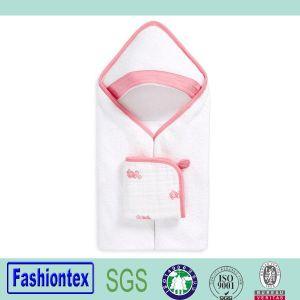 Soft Custom Printed Baby Cotton Beach Towel Bath Wrap pictures & photos