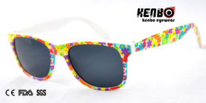 New Design Fashion Sunglasses with Nice Patterned for Kids. Kc598 pictures & photos