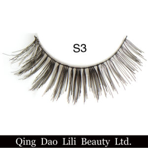 Fashion 3D Synthetic Hair False Eyelashes Factory Price pictures & photos
