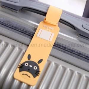 PVC Luggage Tag, Custom Luggage Tag for Promotional Gifts pictures & photos