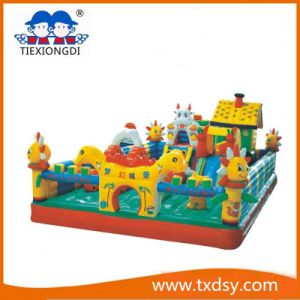 Kids Inflatable Castle Ce Cow Jumping Castle for Rental Business pictures & photos