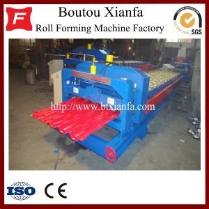 Galvanized Steel Roof Tile Roll Forming Machine Price