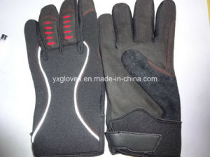Safety Glove-Weight Lifting Glove-Mechanic Glove-Utility Glove-Synthetic Leather Glove-Work Glove pictures & photos