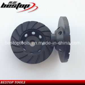 4 Inch Cup Wheel with 8/5-11 Threaded for American Market pictures & photos