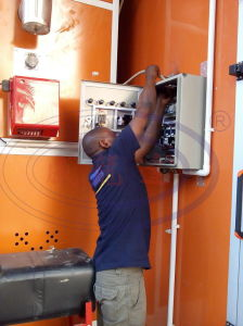 Auto Car Spray Booth Wld8200 CE pictures & photos