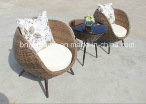Man-Made Fibre PE Rattan Weaving Garden Furniture/Outdoor Wicker Furniture (BP-238A) pictures & photos