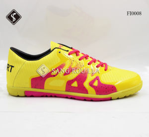Indoor Soccer Shoes Sports Shoes with Rb Outsole pictures & photos