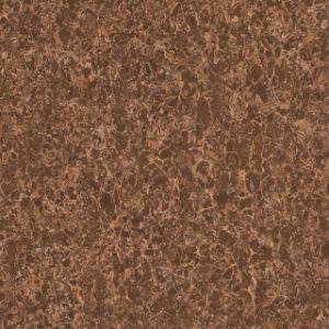 Dark Color Pulati Polished Tile Ceramic Floor Porcelain Tile for Home Decoration Skirting Tile of Black Red Brown (600*600mm) pictures & photos