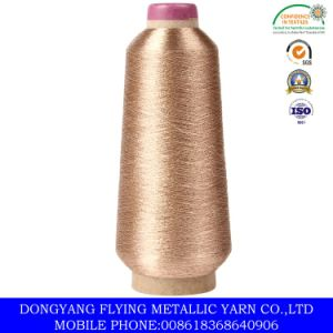 Metallic Yarn in Pure Gold, Fluresent Gold Color