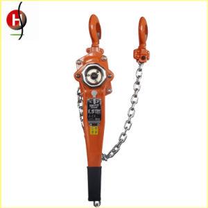 Hsh-Va Type Chrome Hand Wheel Manual Lever Chain Hoist pictures & photos