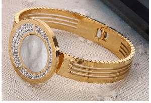 High-End Stainless Steel Bracelet, Diamond Bangles, Fashion Jewelry (hdx1008) pictures & photos