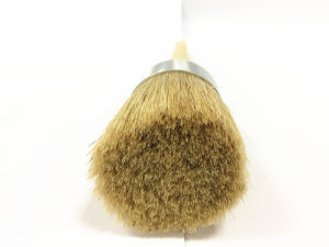 Natural White Bristle Round Brush with Plain Birch Handle pictures & photos