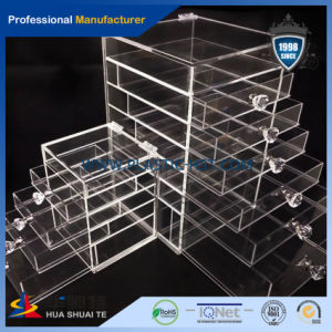 Clear Acrylic Makeup Organizer and Many Styles Cosmetic Storage Boxes-Hst Acrylic Product pictures & photos