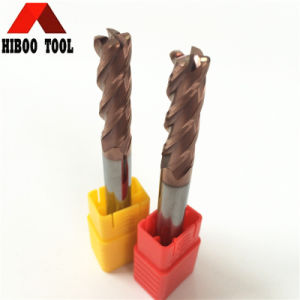 Long Flutes Carbide Toroidal End Mill for Metal Drilling pictures & photos