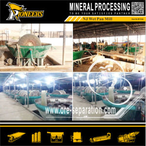 Widely Used Metal Steel Mineral Electric Grinding Mill Centrifugal Pan