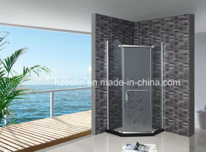Tempered Glass Simple Shower Enclosure Room (AS-940 without tray) pictures & photos