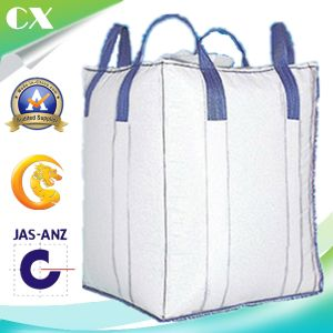 4 Cross Corner Loop Anti-Static Sand Cement Bulk PP Woven Big Bag