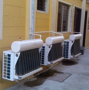 Saso/Esma Commercial Use High Quality Ensure Hybrid Solar Air Conditioner pictures & photos