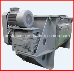 Heavy Type Ribbon Mixer with Pneumatic Discharging pictures & photos