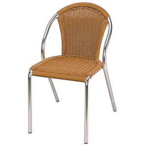 High Quality Aluminum Wicker Chair DC-06208 pictures & photos