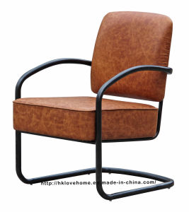 Modern Dining Coffee Restaurant Black Metal Wire Upholstered Chairs pictures & photos